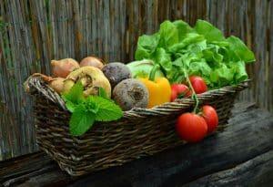 Ernährung Gemüsekorb